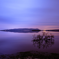 Buy canvas prints of  Dawn at Loch Leven by Stuart Jack