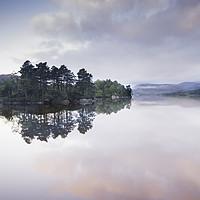 Buy canvas prints of Pink Loch by Stuart Jack