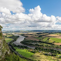 Buy canvas prints of View from Kinnoull by Stuart Jack