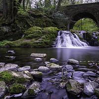 Buy canvas prints of Arbrilot Falls by Stuart Jack