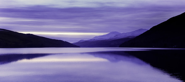 Loch Tay at Dusk Canvas Print by Stuart Jack