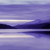 Buy canvas prints of Loch Tay at Dusk by Stuart Jack