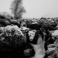 Buy canvas prints of Winter Falls by Stuart Jack