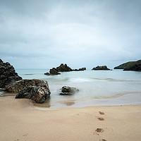 Buy canvas prints of Footsteps by Stuart Jack