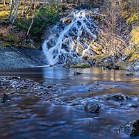 Buy canvas prints of Rannoch Falls by Stuart Jack