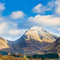 Buy canvas prints of Glen Etive View by Stuart Jack
