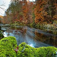Buy canvas prints of Autumn Flows by Stuart Jack