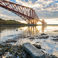 Buy canvas prints of Forth Rail Crossing by Stuart Jack