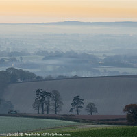 Buy canvas prints of Misty morning view by Pete Hemington