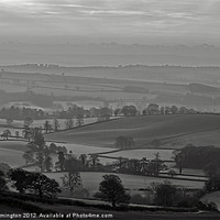 Buy canvas prints of Mid Devon morning - 2 of 2 by Pete Hemington