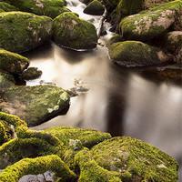 Buy canvas prints of Becka Brook - Dartmoor by Pete Hemington