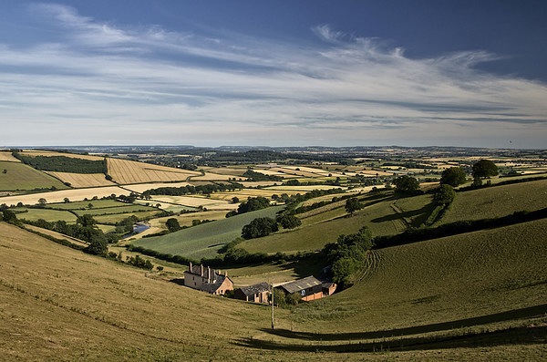 Exe valley view Canvas print by Pete Hemington