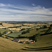 Buy canvas prints of Exe valley view by Pete Hemington