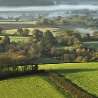 Buy canvas prints of Misty morning by Pete Hemington