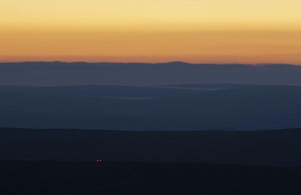 Dartmoor on the Horizon Canvas print by Pete Hemington