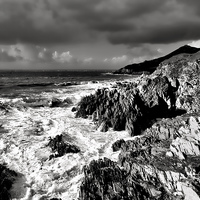 Buy canvas prints of Woolacombe to Morte Point by Pete Hemington