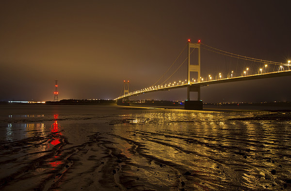 The Old Severn Bridge Canvas print by Pete Hemington