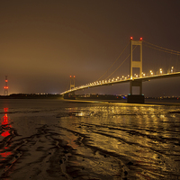 Buy canvas prints of The Old Severn Bridge by Pete Hemington