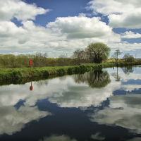 Buy canvas prints of Exeter canal by Pete Hemington