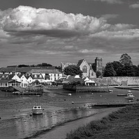 Buy canvas prints of Topsham Waterfront in Devon by Pete Hemington