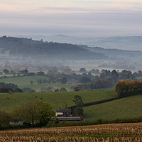 Buy canvas prints of Killerton Clump from Caseberry downs by Pete Hemington