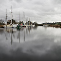 Buy canvas prints of Turf locks on Exeter Canal by Pete Hemington