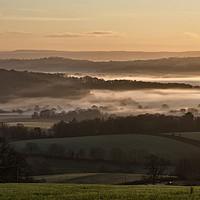 Buy canvas prints of Mid Devon valleys by Pete Hemington