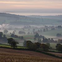 Buy canvas prints of Culm valley by Pete Hemington