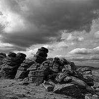Buy canvas prints of Hound Tor on Dartmoor by Pete Hemington