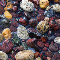 Buy canvas prints of Pebbles at Kynance Cove by Pete Hemington