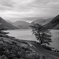 Buy canvas prints of Wastwater in Cumbria by Pete Hemington