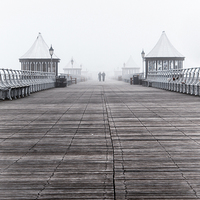 Buy canvas prints of  One Misty Morn.  by lucy devereux