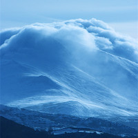 Buy canvas prints of Magical Mountains II by lucy devereux