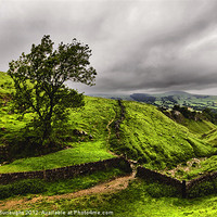 Buy canvas prints of At The Top Of Cavedale by Darren Burroughs