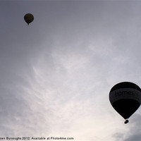 Buy canvas prints of Balloons by Darren Burroughs