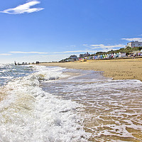 Buy canvas prints of Southwold Sand Sea and Beach by Darren Burroughs