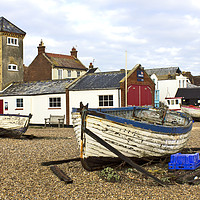 Buy canvas prints of Aldeburgh Suffolk by Darren Burroughs