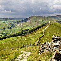 Buy canvas prints of The Great Ridge  by Darren Burroughs