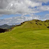 Buy canvas prints of Church Stretton Golf Course by Darren Burroughs
