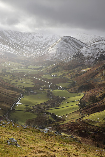 The Nab - Martindale Canvas print by Steve Glover