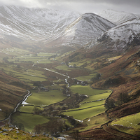 Buy canvas prints of The Nab - Martindale by Steve Glover