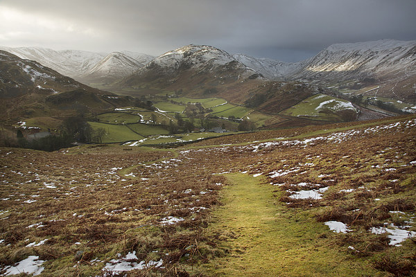 Martindale A Cumbrian Splendor Canvas print by Steve Glover