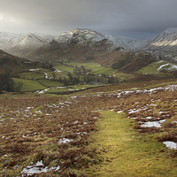 Buy canvas prints of Martindale A Cumbrian Splendor by Steve Glover