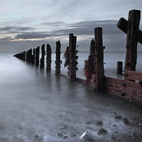 Buy canvas prints of An October Dawn At The Spurn by Steve Glover