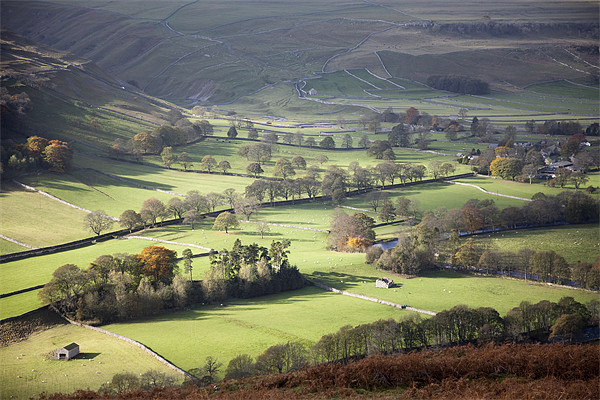 That Littondale Luster Canvas print by Steve Glover