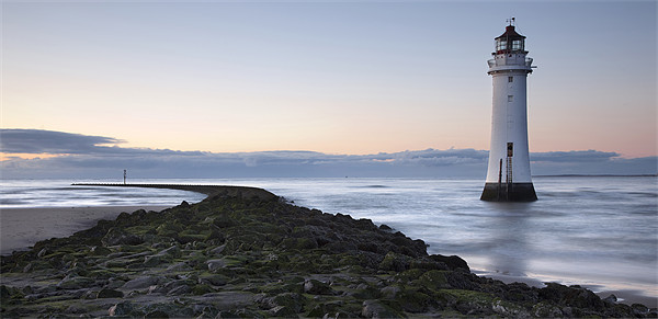 Perch Rock - New Brighton Lighthouse Canvas print by Steve Glover