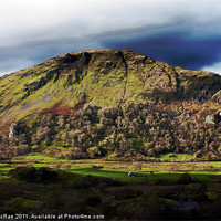 Buy canvas prints of Welsh mountain by Doug McRae