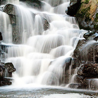 Buy canvas prints of Waterfall by Doug McRae