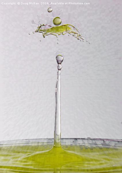water palm Canvas print by Doug McRae