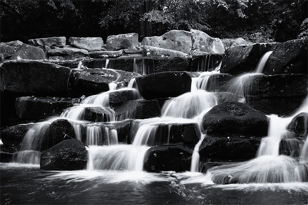 water fall Canvas Print by Doug McRae